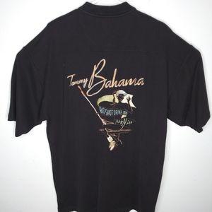 Tommy Bahama Silk Cotton Polo Shirt